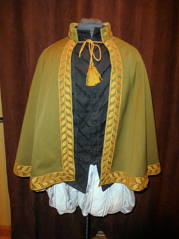 cloak completed front