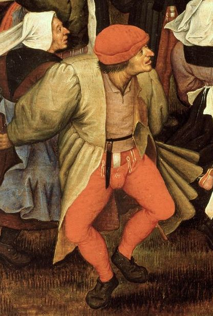 Wedding Dance In Open Air Pieter Bruegel Younger detail2