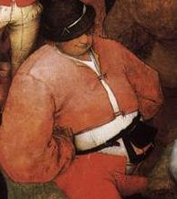 Wedding dance Peter Bruegel Elder detail1