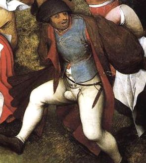 Wedding dance Peter Bruegel Elder detail3